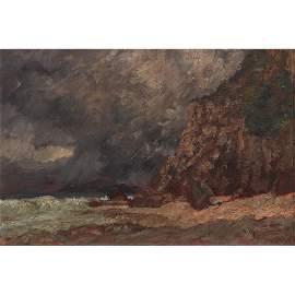 Romulo Galicano (b. 1945)  Seascape