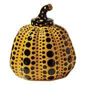 Yayoi Kusama (b. 1929) Pumpkin Yellow & Black