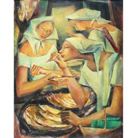 Anita Magsaysay-Ho (1914 - 2012)   - Tinapa Vendors