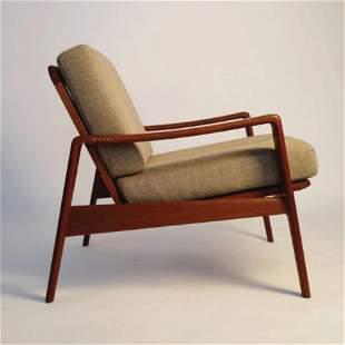 A Komfort Easy Chair designed by Arne Wahl Iversen