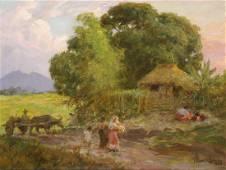 Fernando Amorsolo (1892 - 1972) Untitled