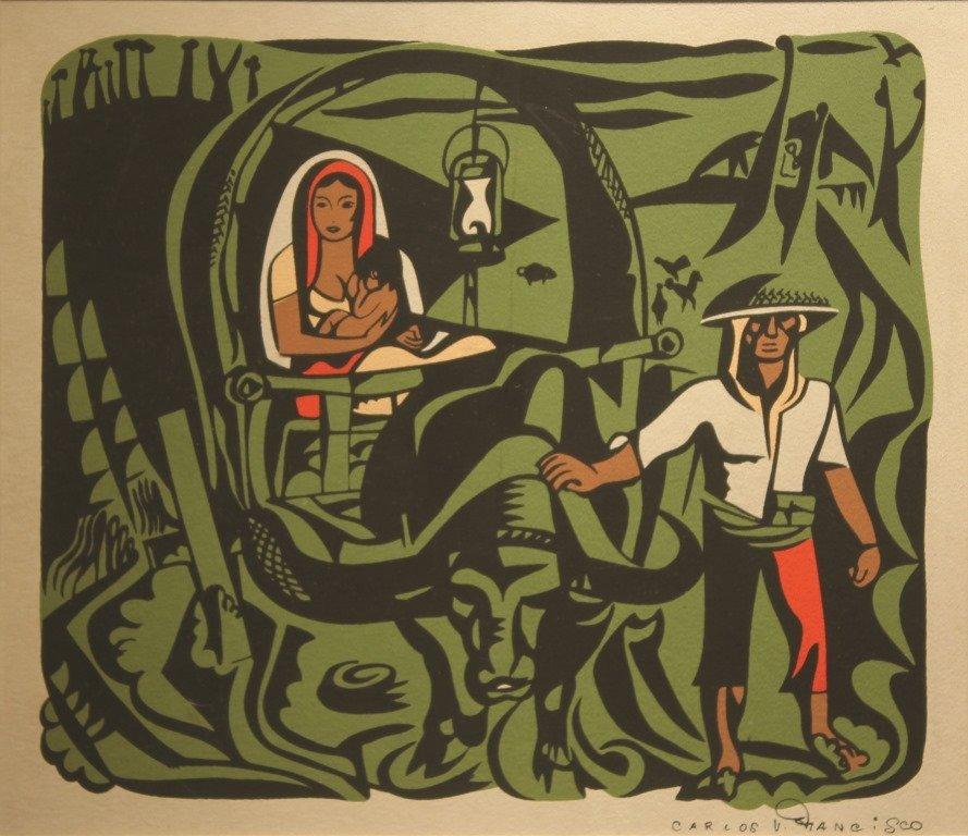 """Carlos """"Botong"""" Francisco 1912 - 1969"""
