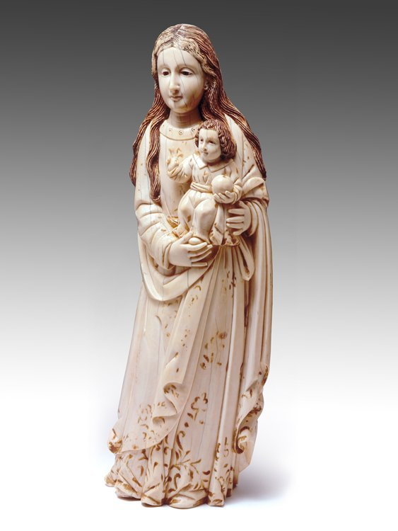 An Important and Magnificent large Ivory figure