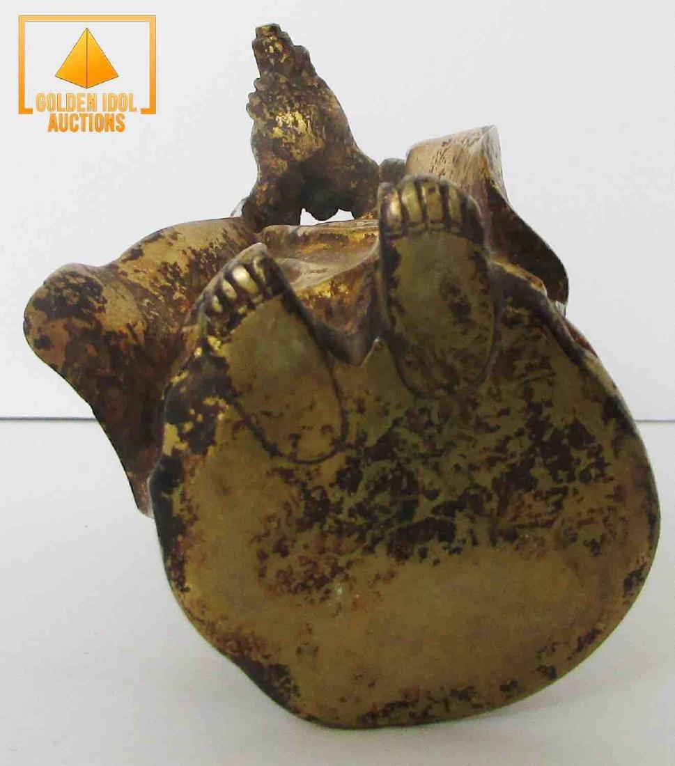 Antique Chinese Bronze Statue - 3