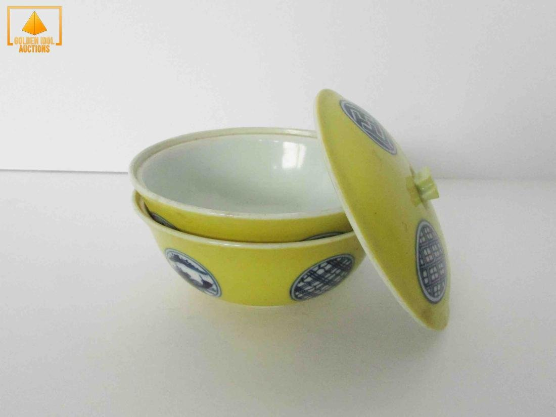 Antique chinese porcelain rice bowl - 2