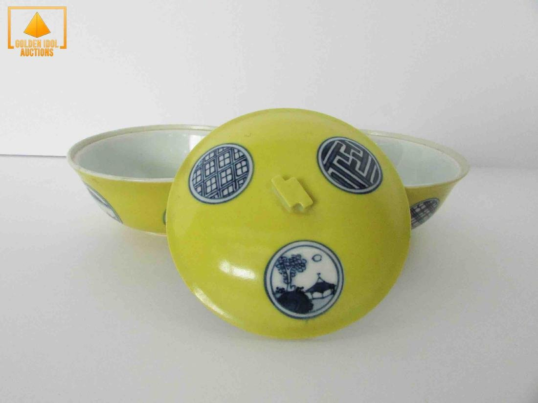 Antique chinese porcelain rice bowl - 3