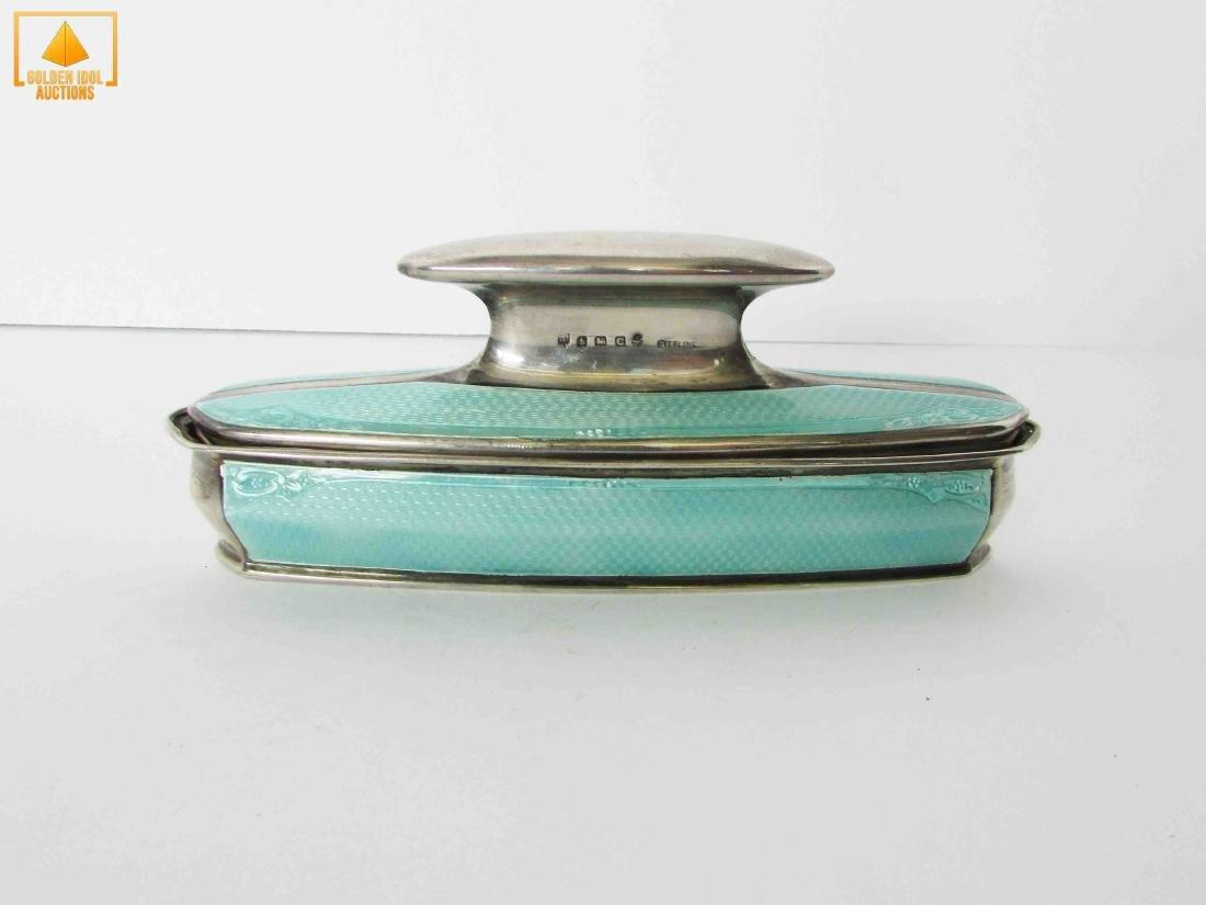 English enamel and silver buffer
