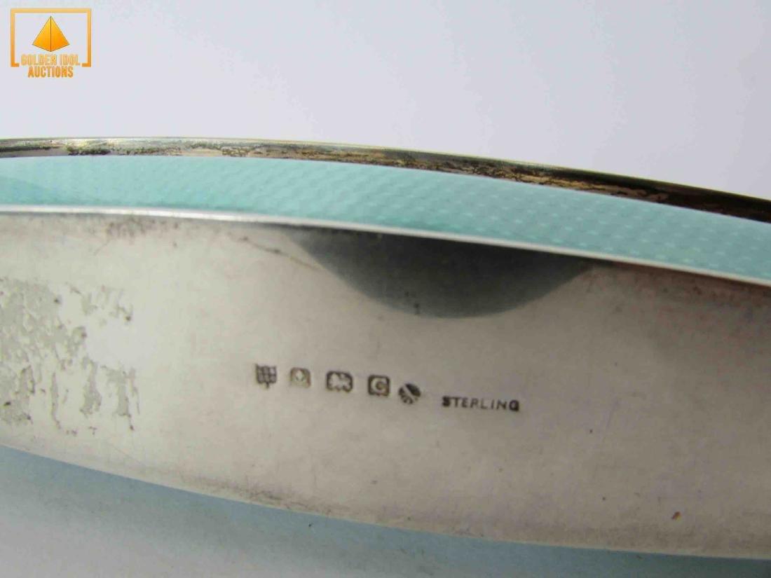 English enamel and silver buffer - 4