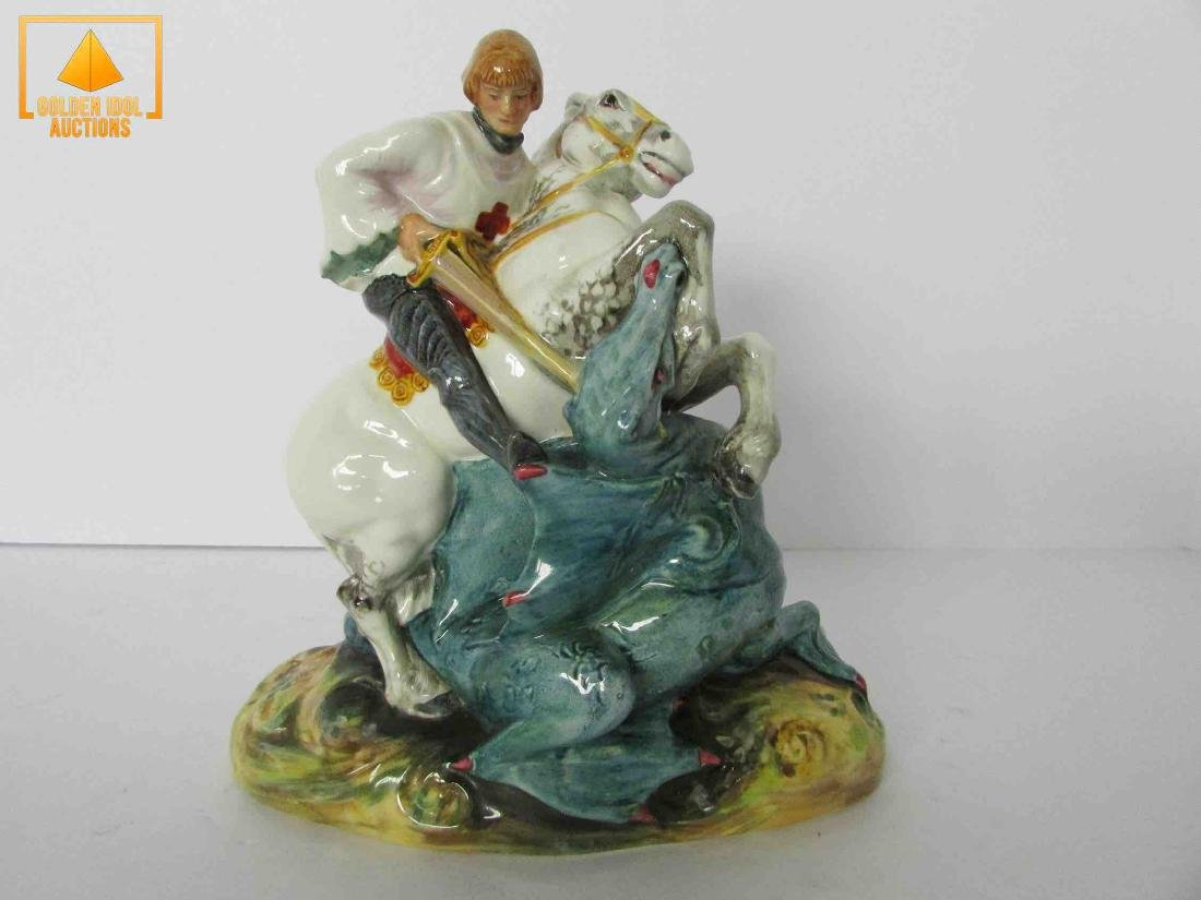 Royal Doulton St porcelain figure