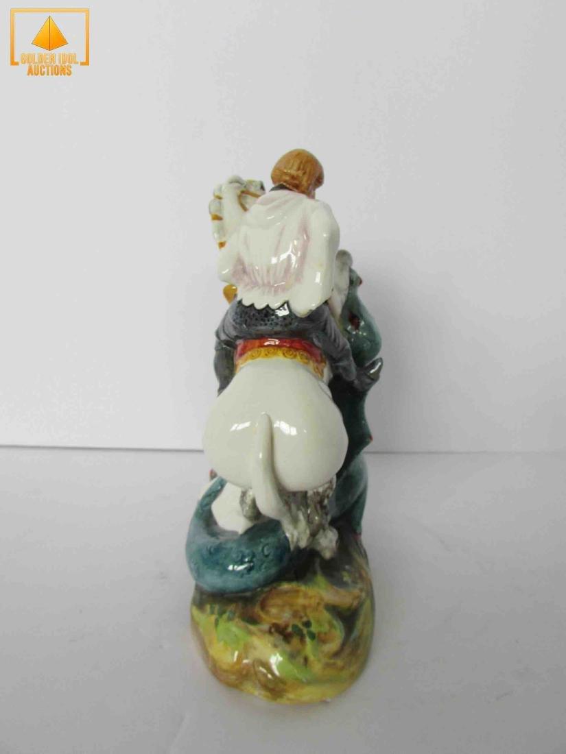 Royal Doulton St porcelain figure - 2