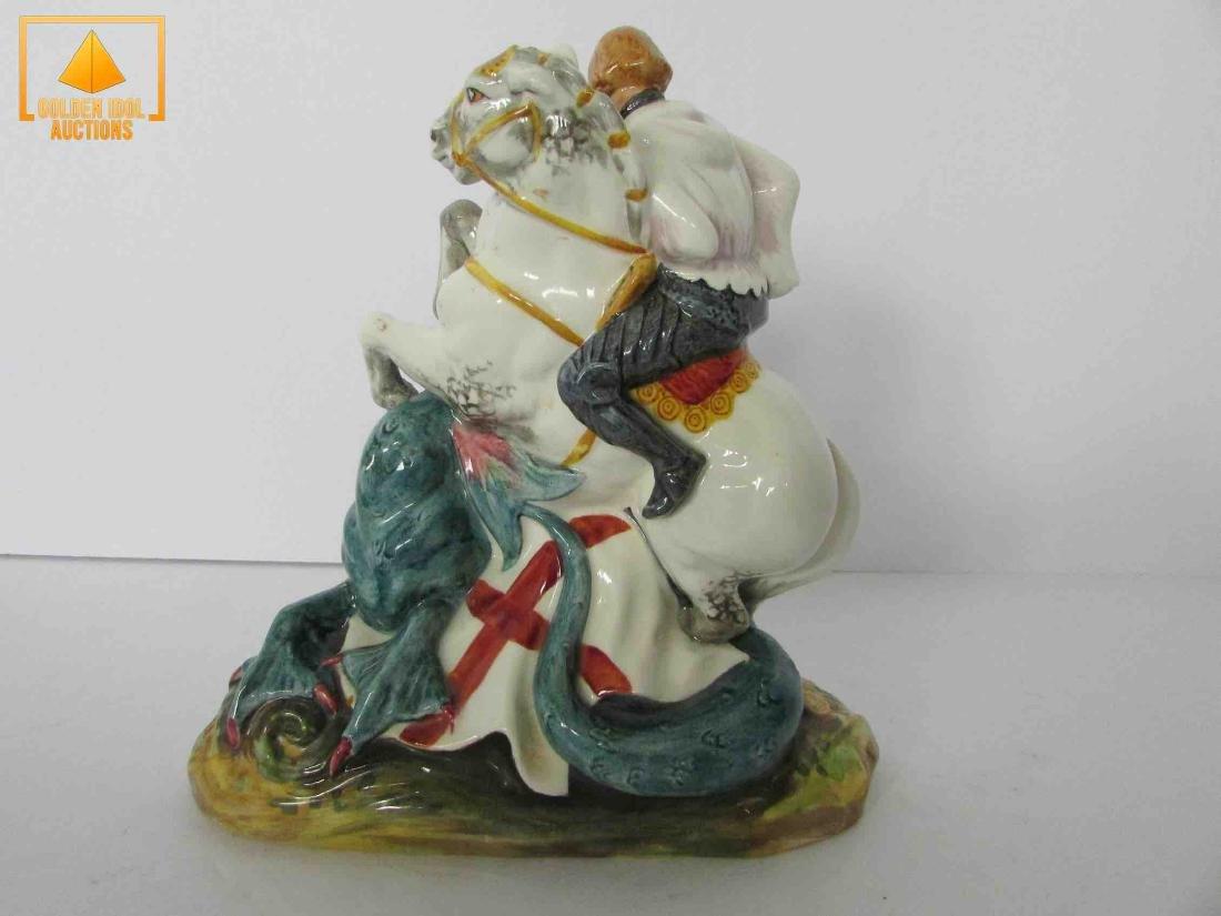 Royal Doulton St porcelain figure - 3