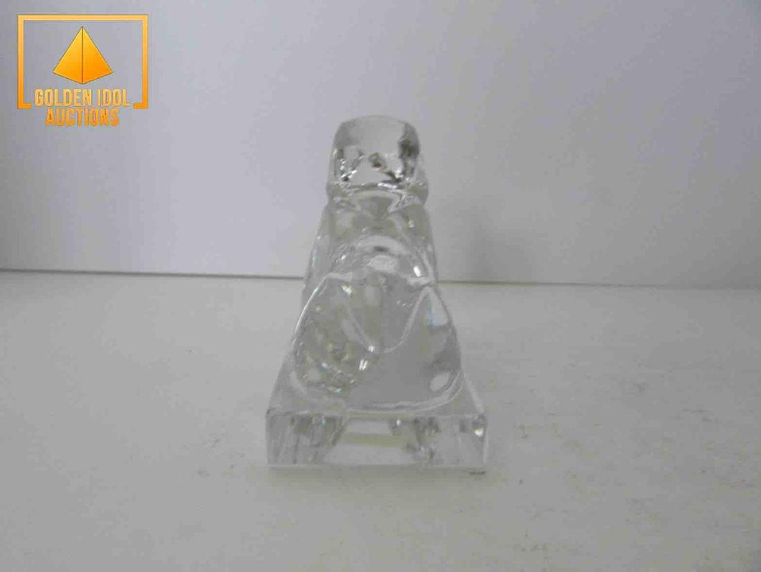 Signed baccarat sphinx - 4