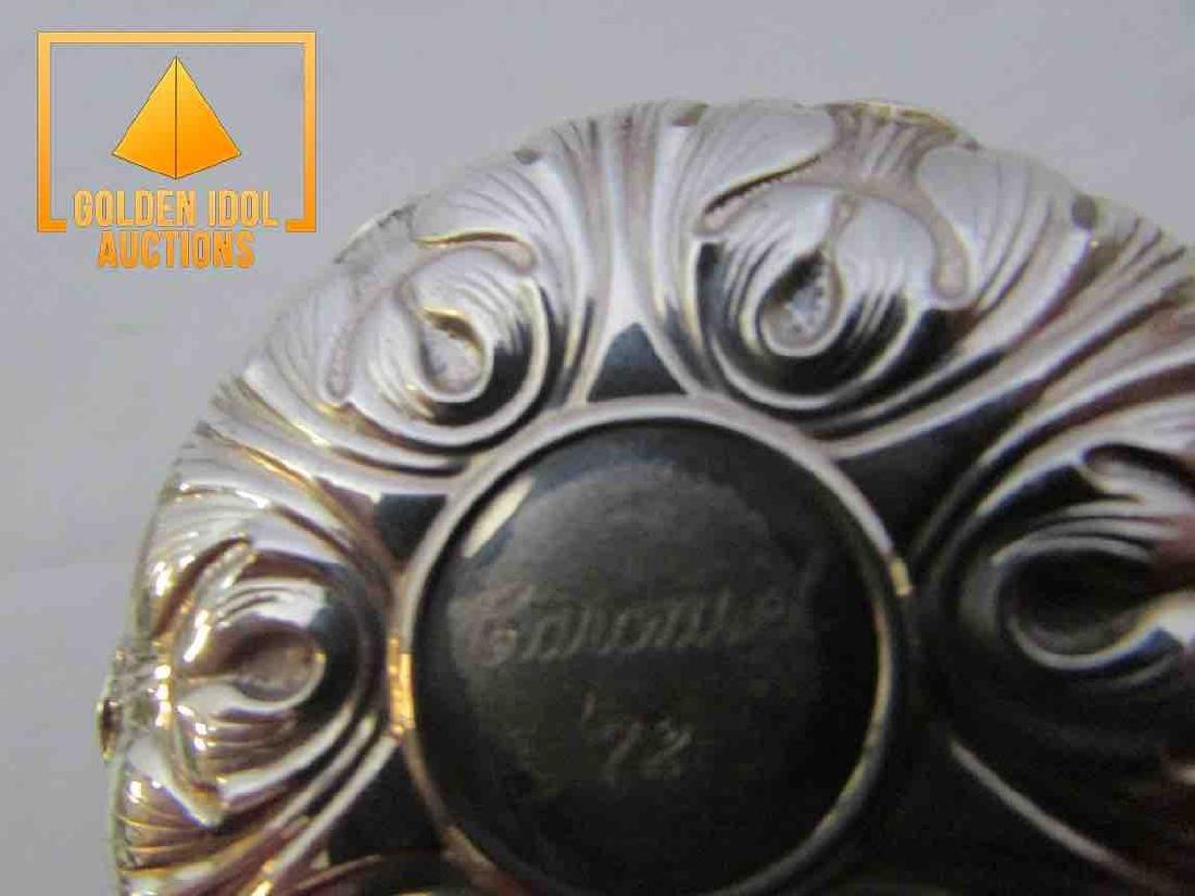 Vintage Gorham Sterling Silver Cover yo yo - 2