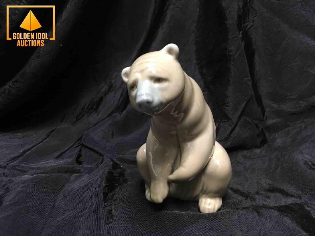 Lladro Polar Bear Figurine
