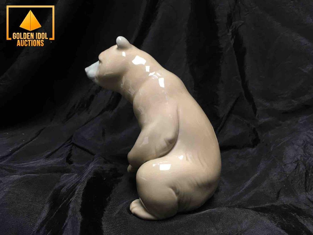 Lladro Polar Bear Figurine - 2