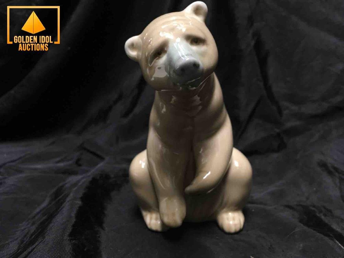 Lladro Polar Bear Figurine - 4