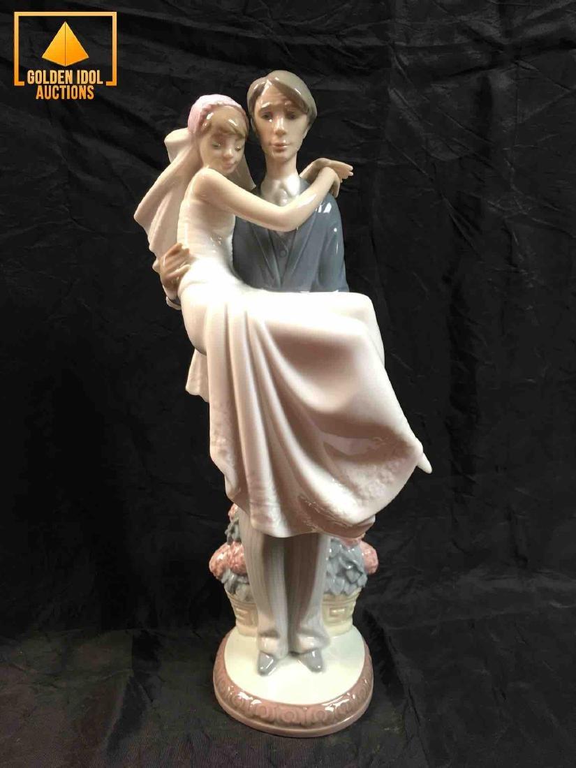 Lladro Figurine - Over the Threshold #5282