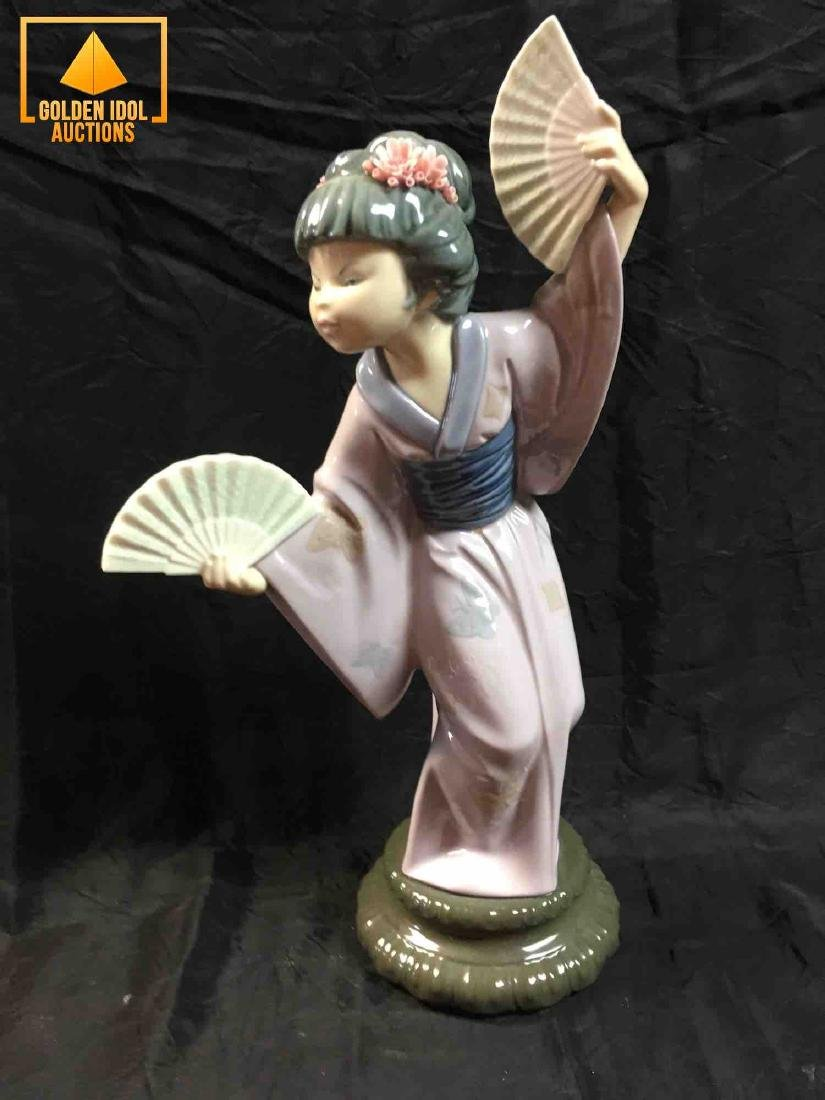 Lladro Japanese with Fan #4991