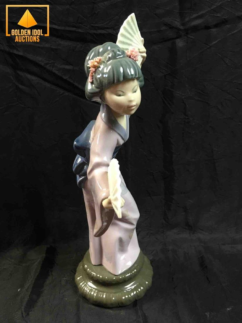 Lladro Japanese with Fan #4991 - 4