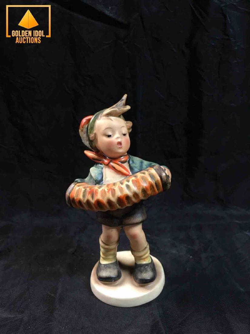 "Hummel Figurine #185 - ""Boy with accordion"""