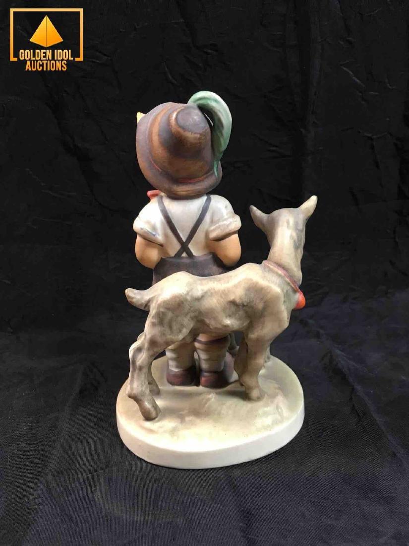 Hummel Figurine #200 - Little Goat Herder. - 3