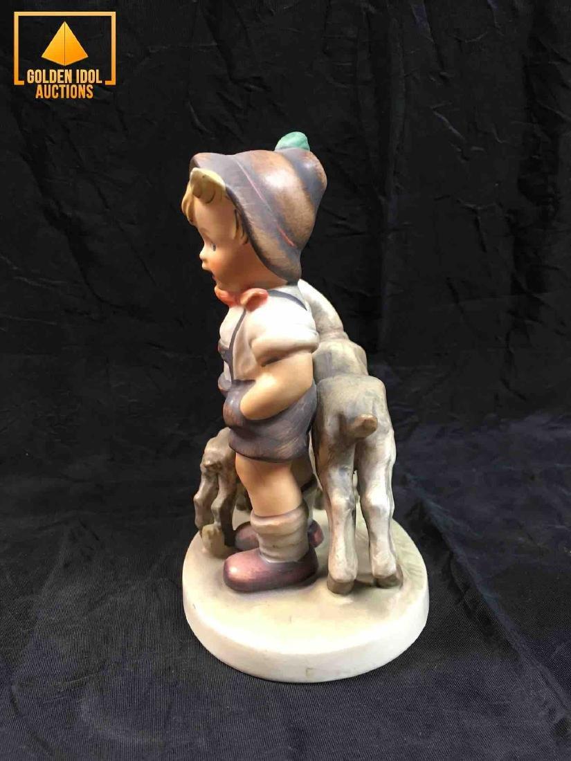 Hummel Figurine #200 - Little Goat Herder. - 4