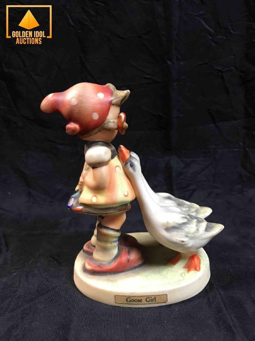 Hummel Figurine - Girl with goose. - 2