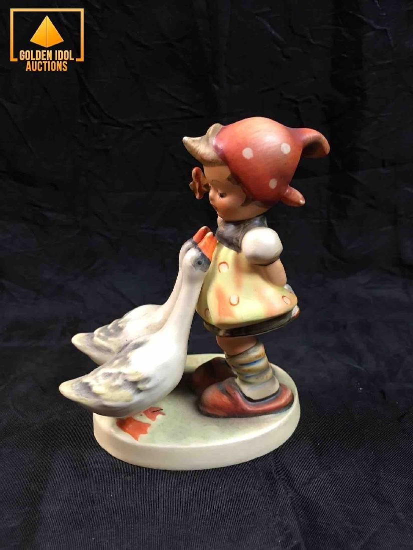 Hummel Figurine - Girl with goose. - 4