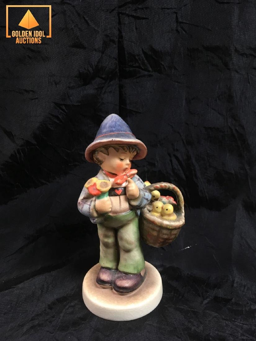 Hummel Figurine - Boy with chickens.