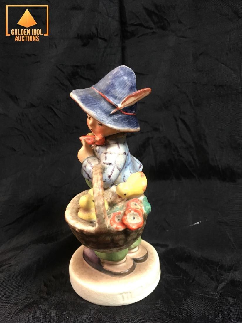 Hummel Figurine - Boy with chickens. - 2
