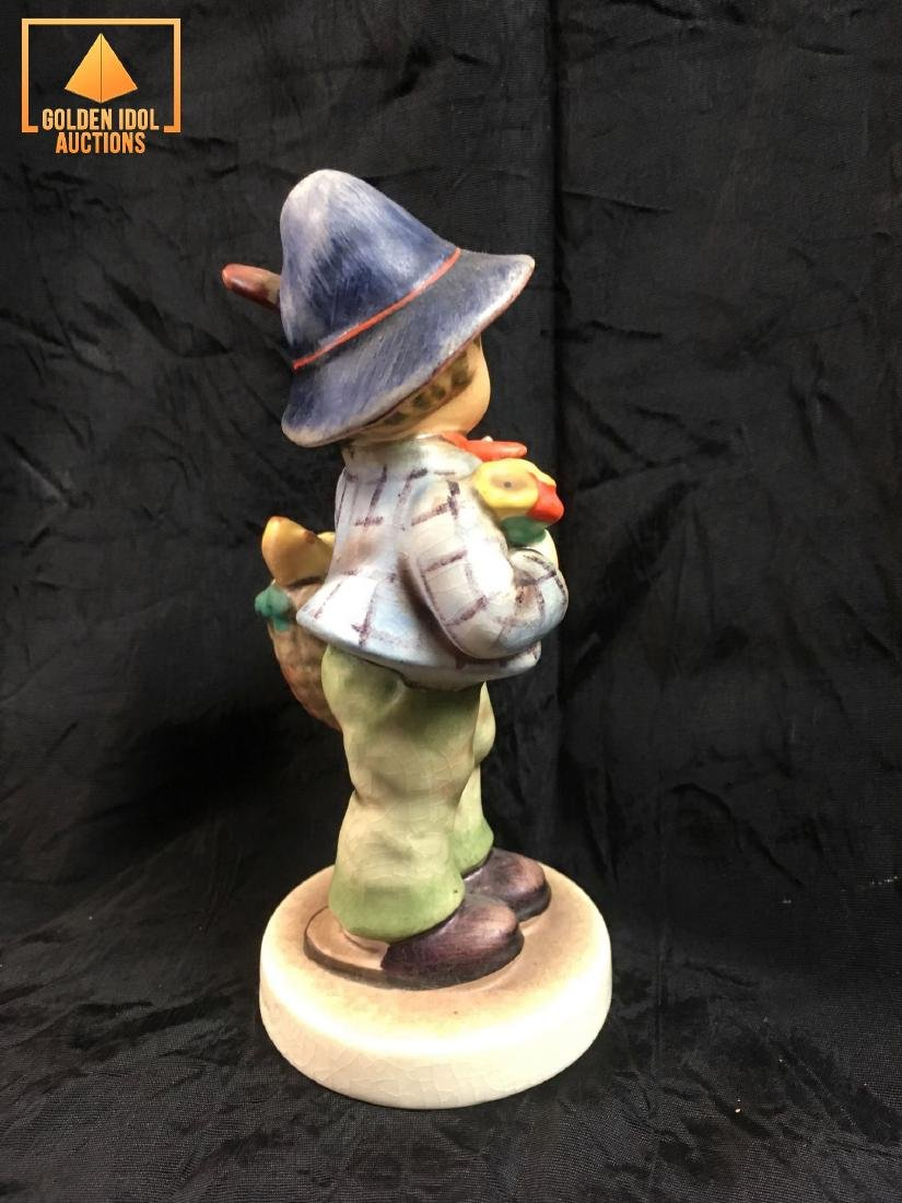 Hummel Figurine - Boy with chickens. - 4