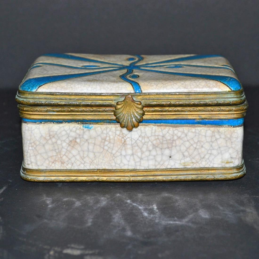 Charles Catteau Antique Covered Box