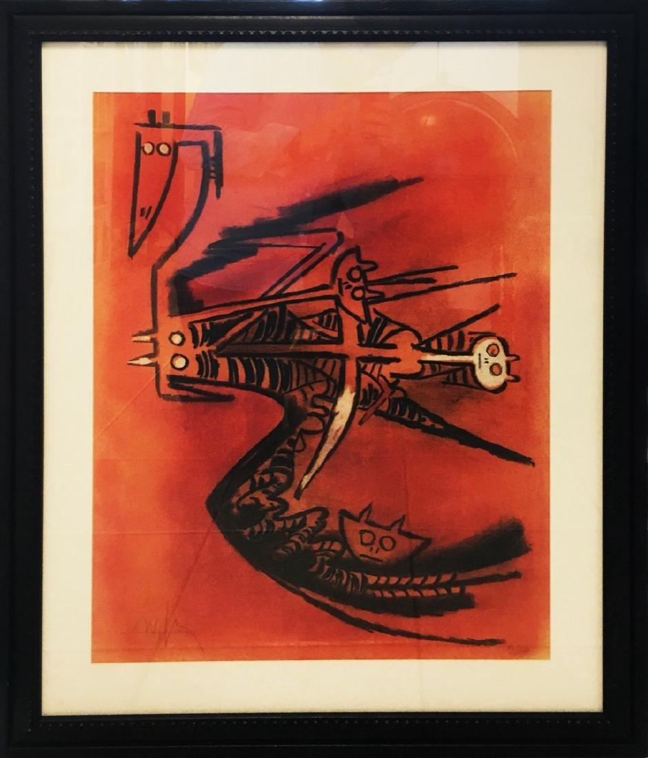 Wifredo Lam (Cuban, 1902-1982): Pleni Luna