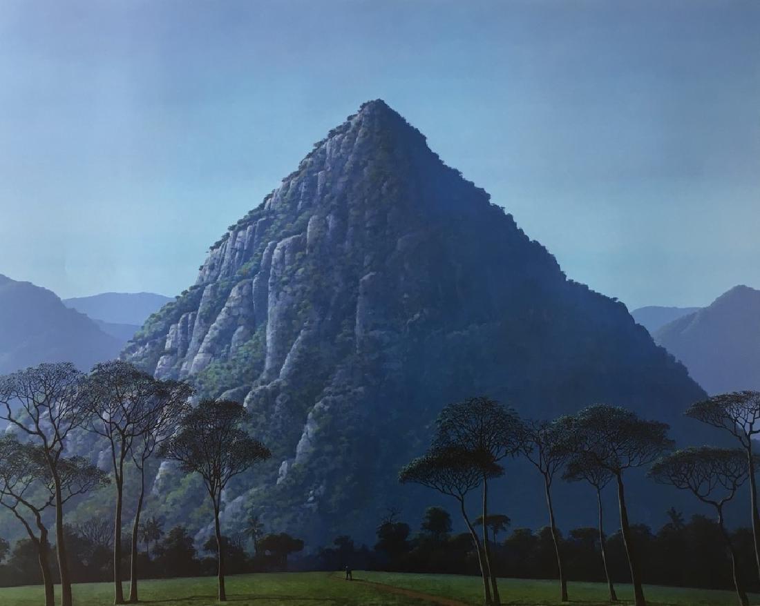 TOMAS SANCHEZ LITHO CUBA ART