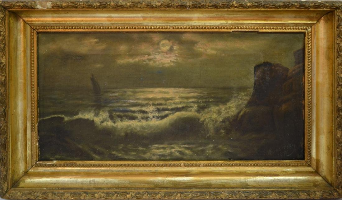 Old seascape Signed Aiivoisosky ?