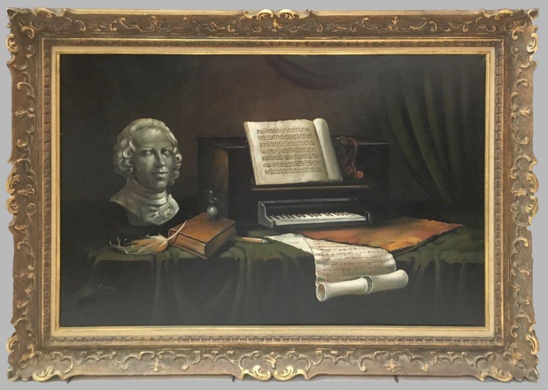 Alix Duval, Oil on Canvas.