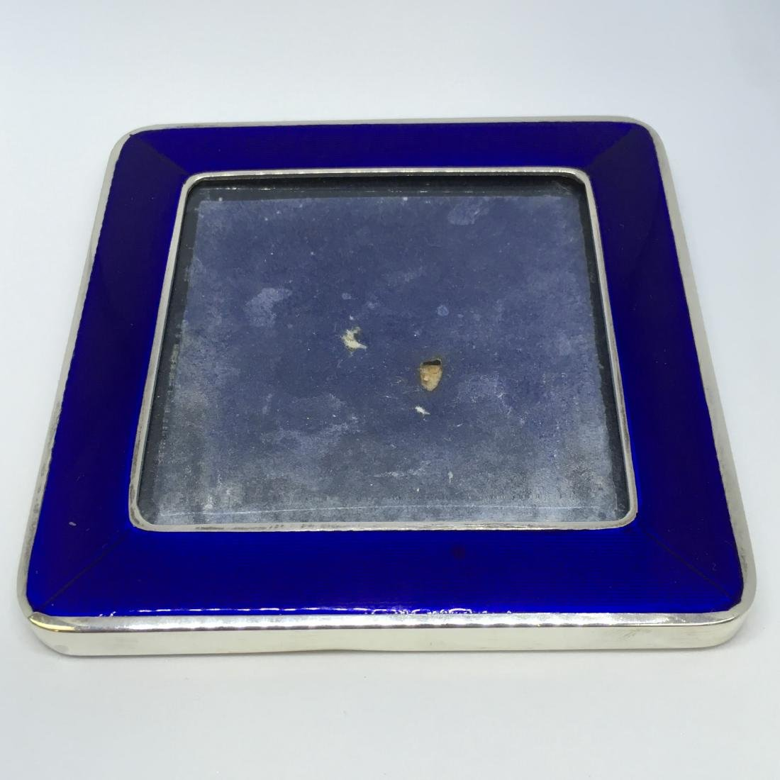 Antique Cartier Sterling Silver Picture Frame with