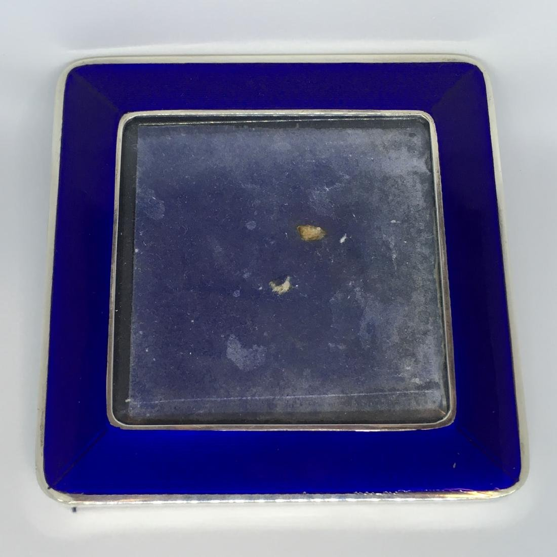 Antique Cartier Sterling Silver Picture Frame with - 2