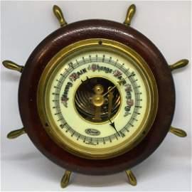 Vintage Nautical Barometer by Stellar Made in West