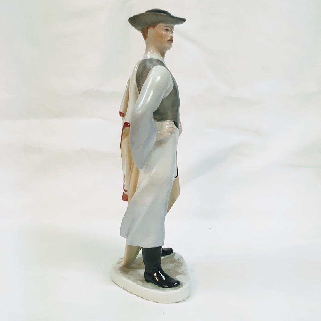 Kezifestes Budapest man in traditional costume figurine - 2