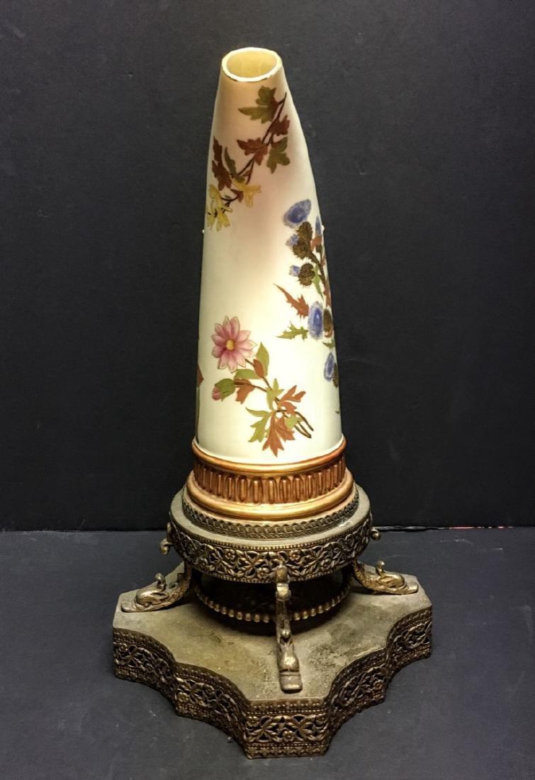 Antique Royal Worcester Porcelain Ewer, 1884 - 2