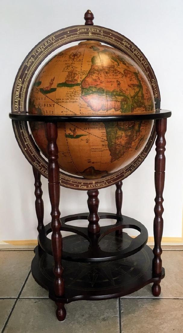 Globe Hidden Home Hide A Bar Old World Style Furniture