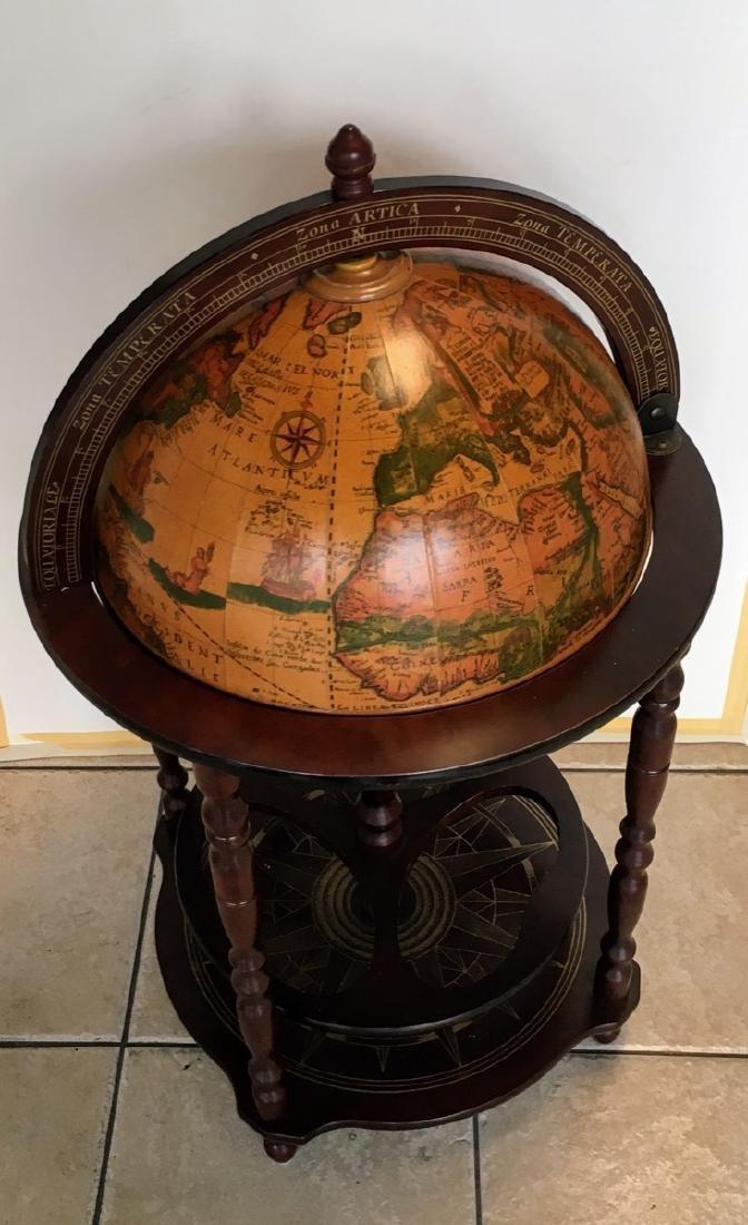Globe Hidden Home Hide A Bar Old World Style Furniture - 3