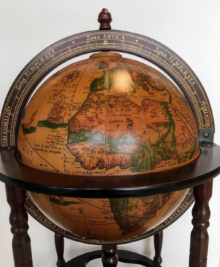 Globe Hidden Home Hide A Bar Old World Style Furniture - 4
