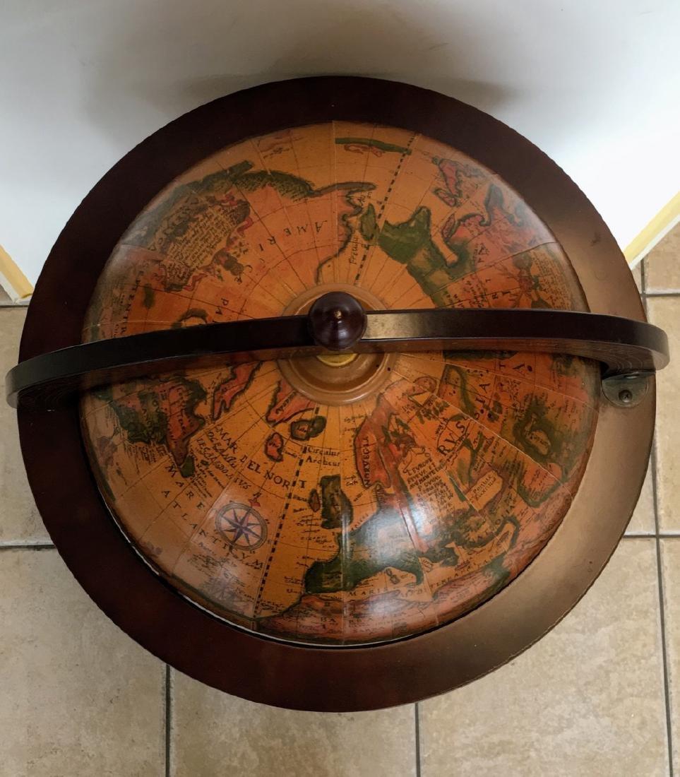 Globe Hidden Home Hide A Bar Old World Style Furniture - 5
