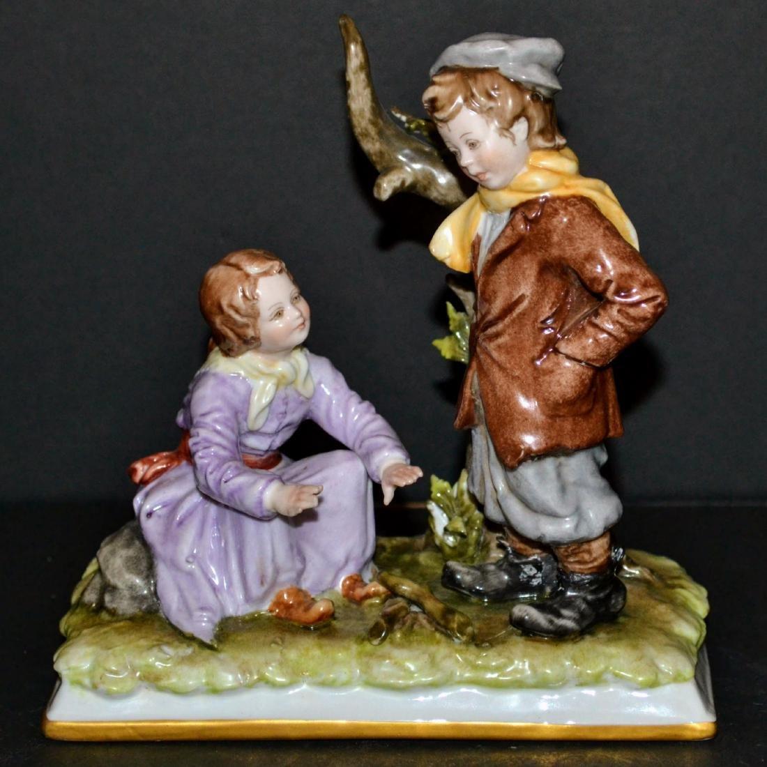 Antique Ernst Bohne Rudolstadt Figurine