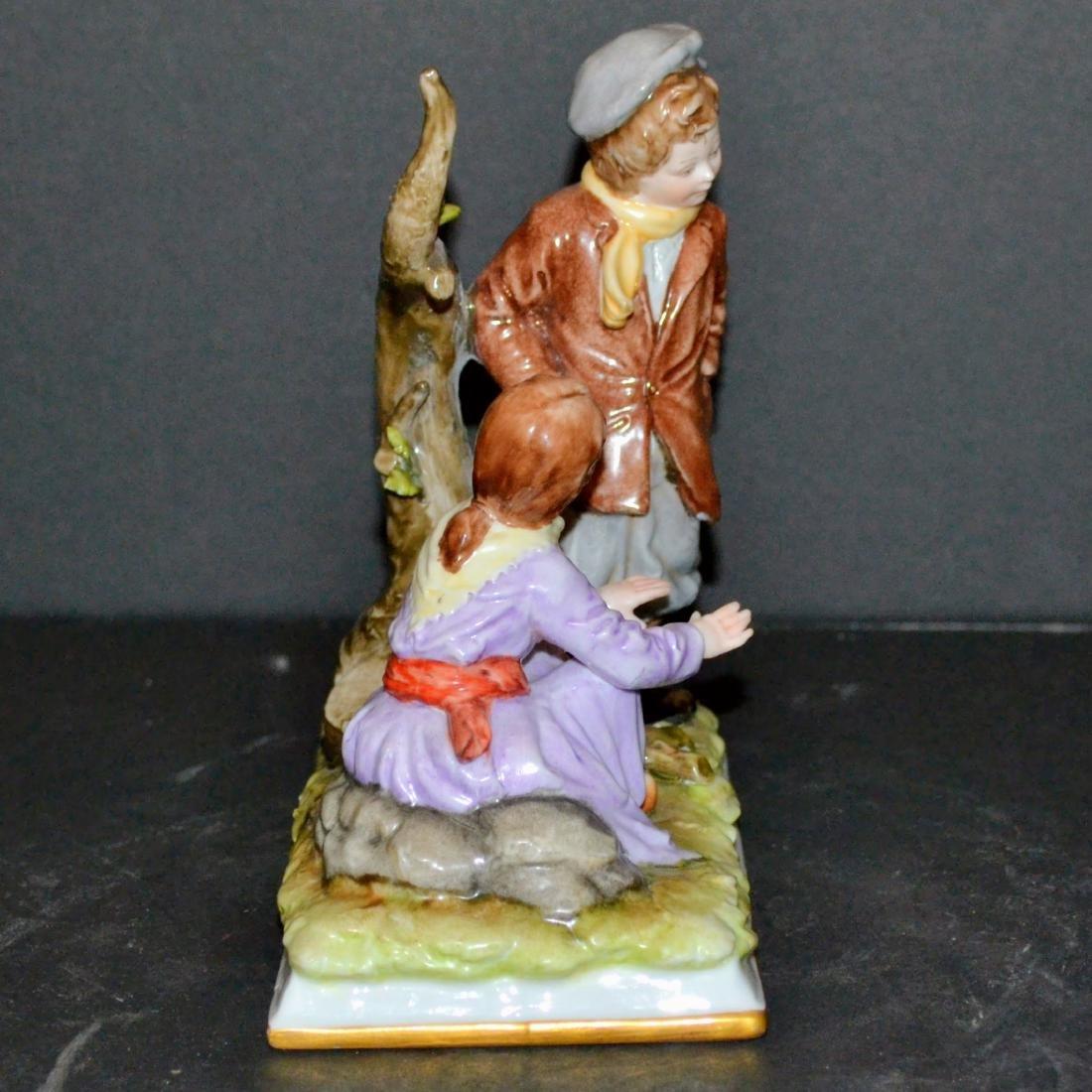 Antique Ernst Bohne Rudolstadt Figurine - 2