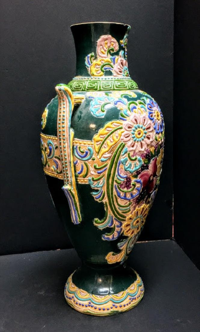 Antique Japanese Arita Vase - 2