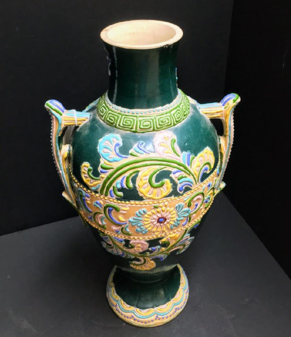 Antique Japanese Arita Vase - 3