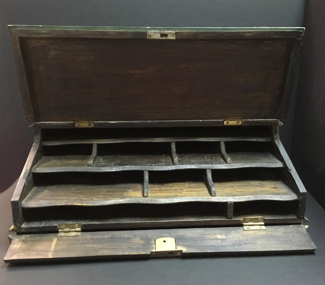 Handpainted Secreterial Desk - 10
